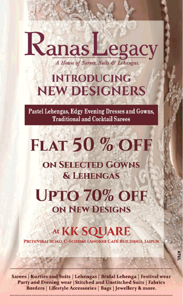 Ranas Legacy offers India