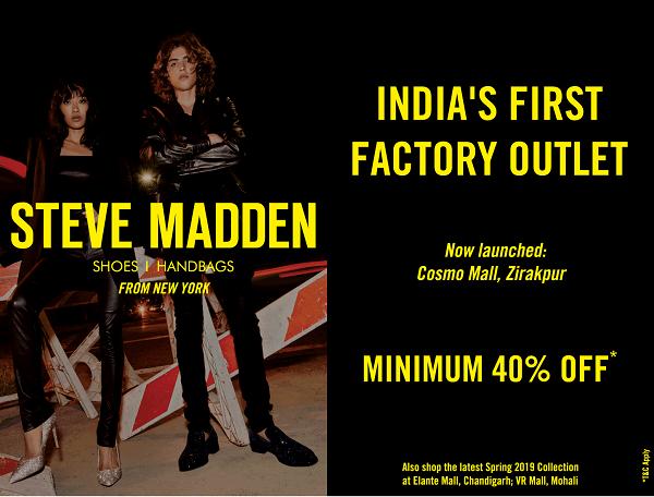 Steve Madden offers India