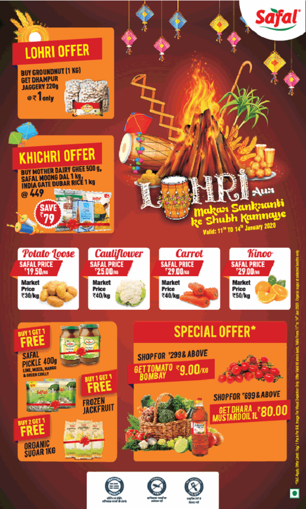Safal offers India