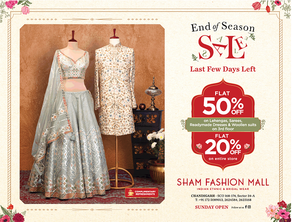 Sham Fashion Mall offers India