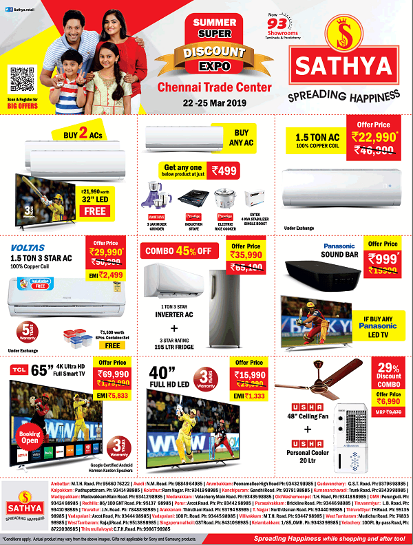 Sathya offers India