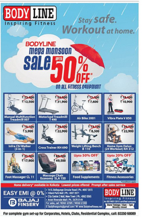 Bodyline Fitness offers India