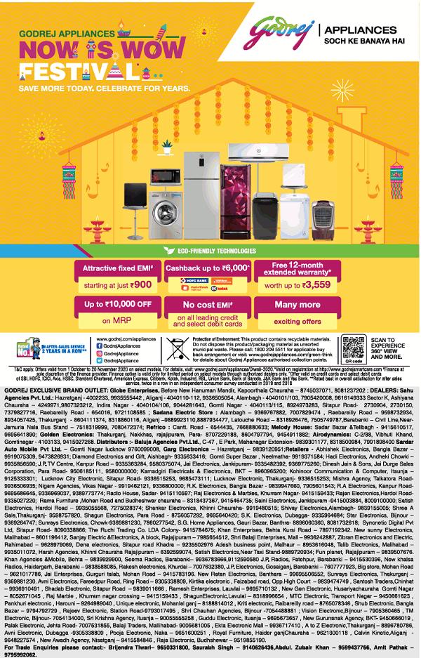 Godrej Appliances offers India