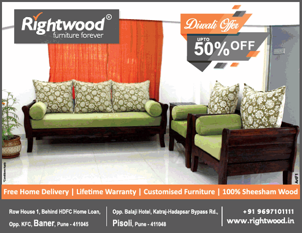 Right Wood offers India