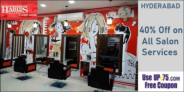 Habibs Hair and Beauty Salon offers India