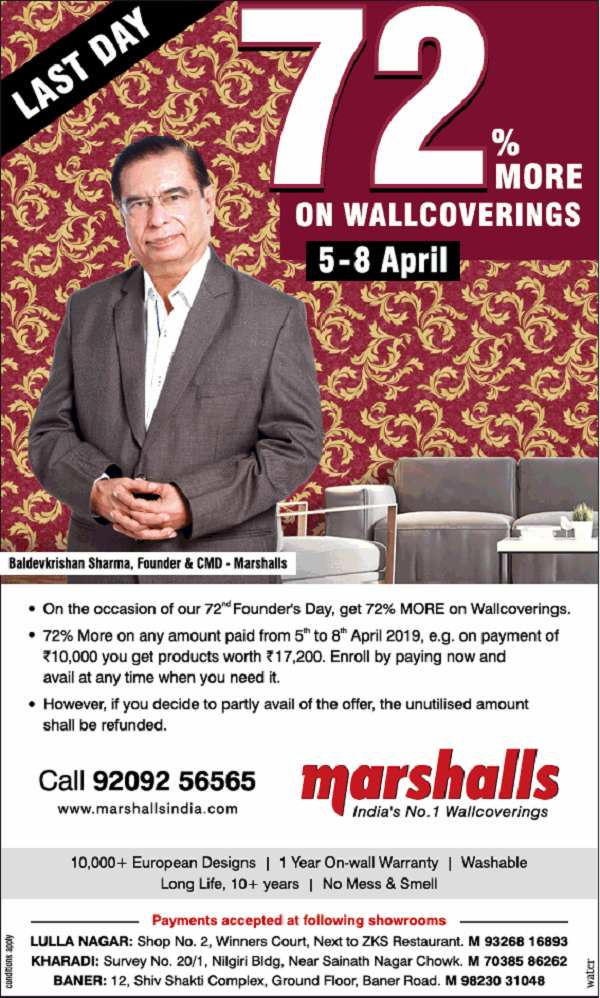 Marshalls offers India