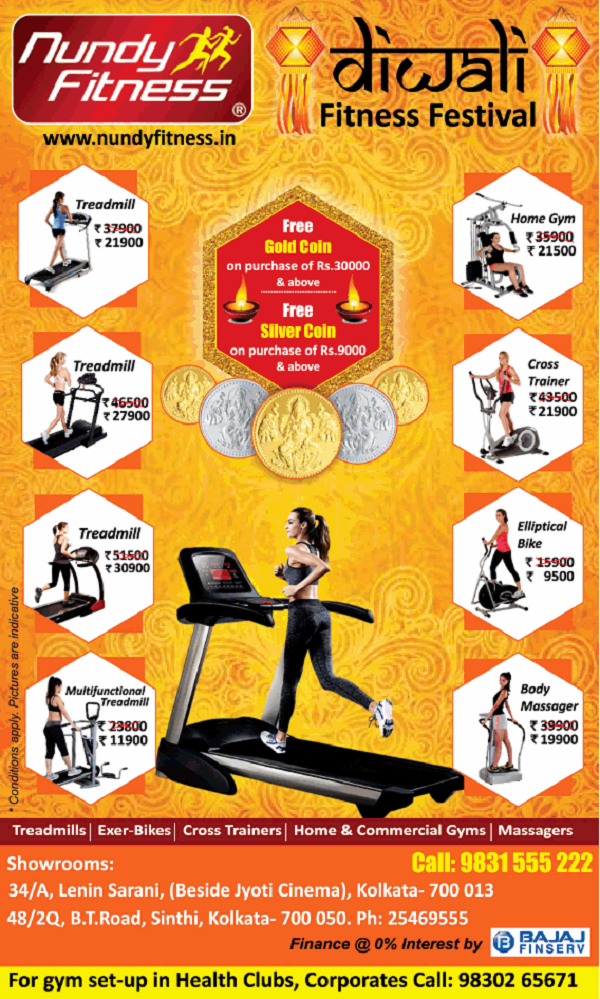 Nundy Fitness offers India