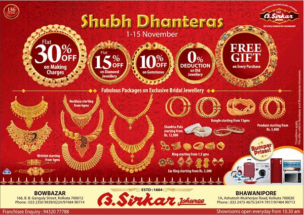 B Sirkar offers India