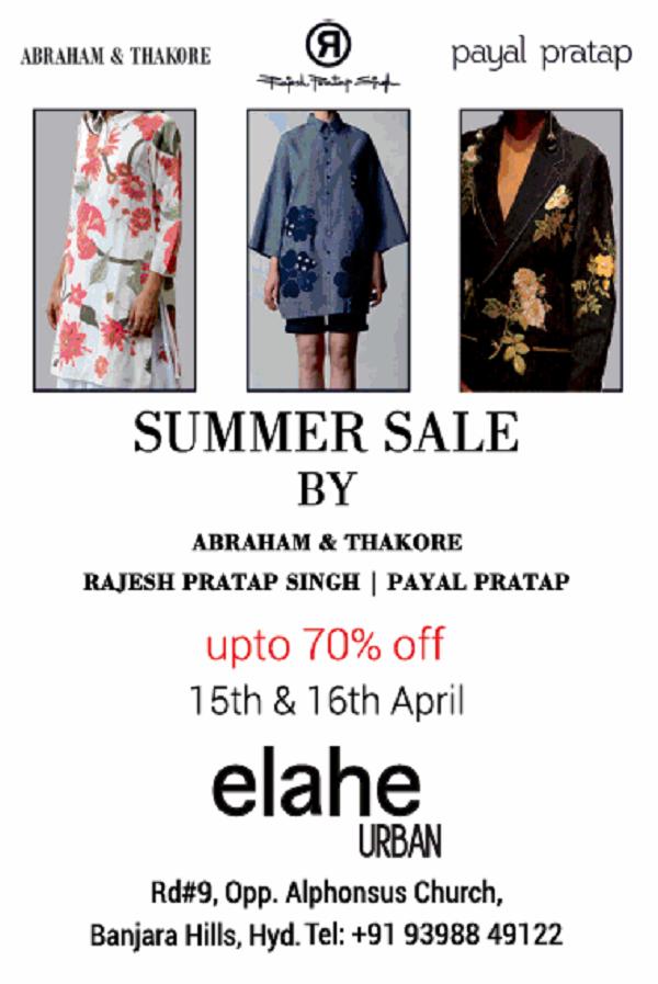 Elahe Urban offers India
