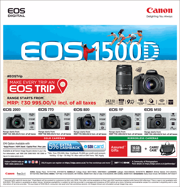 Canon India offers India