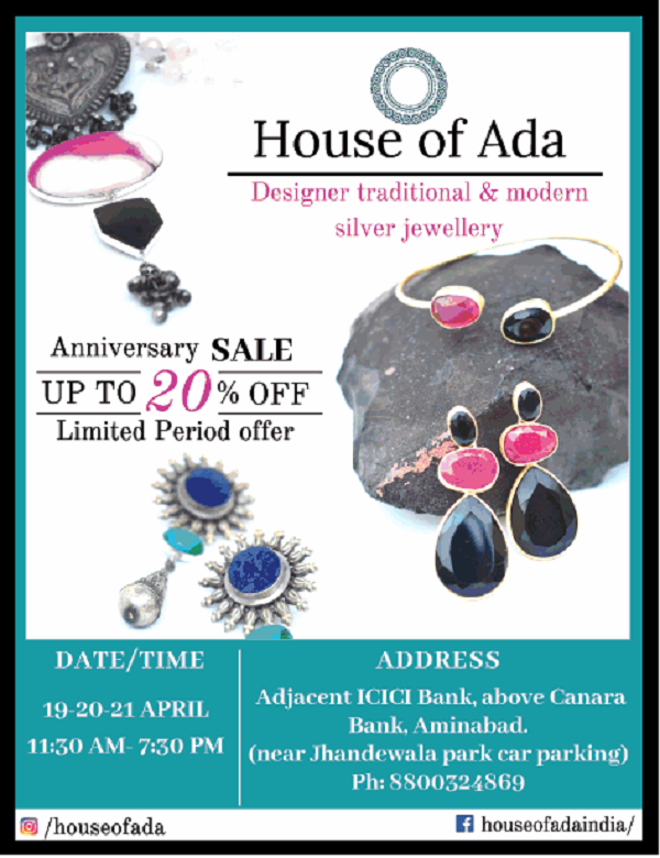 House of Ada offers India