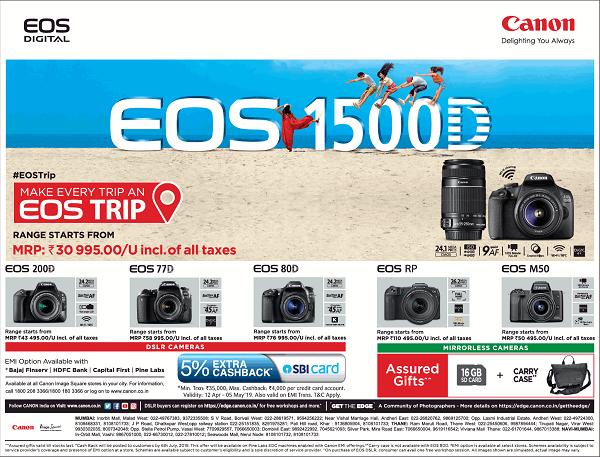 Canon India offers India