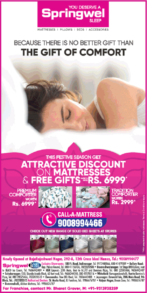 Springwel offers India