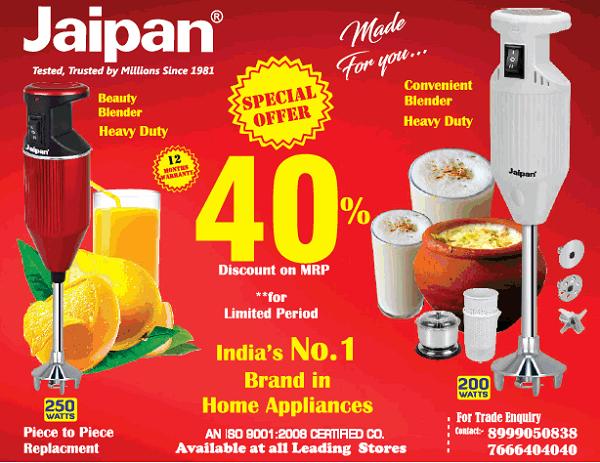 Jaipan offers India