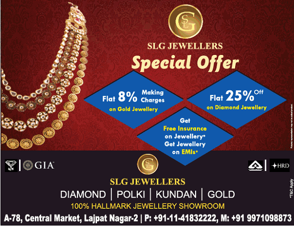 SLG Jewellers offers India