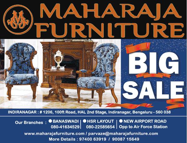 Maharaja Furniture offers India