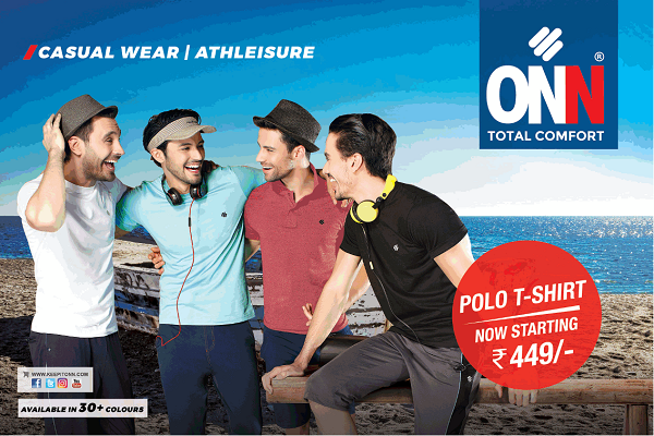 ONN offers India