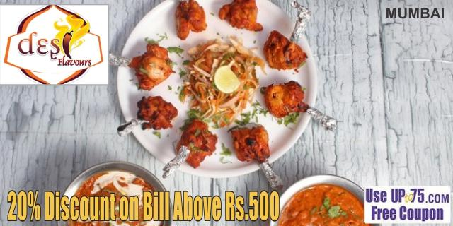 Desi Flavours offers India