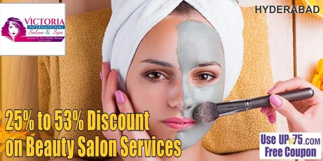 Victoria International Salon and Spa offers India
