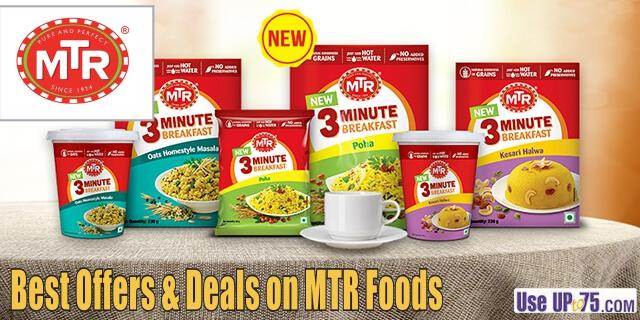 MTR Foods offers India