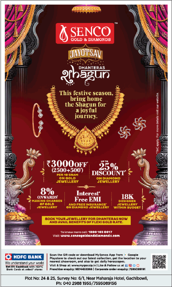 Senco Gold and Diamonds offers India