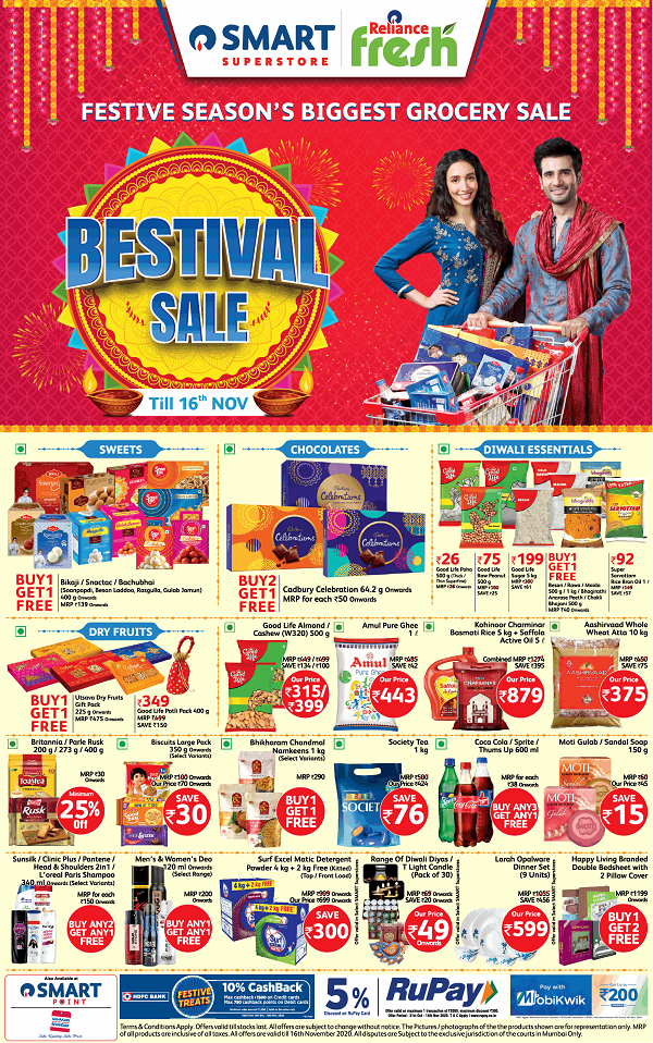 Reliance Fresh offers India