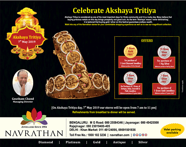 Navrathan offers India