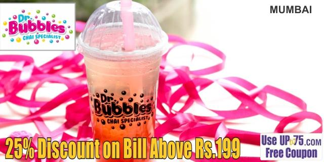 Dr Bubbles Chai Specialist offers India