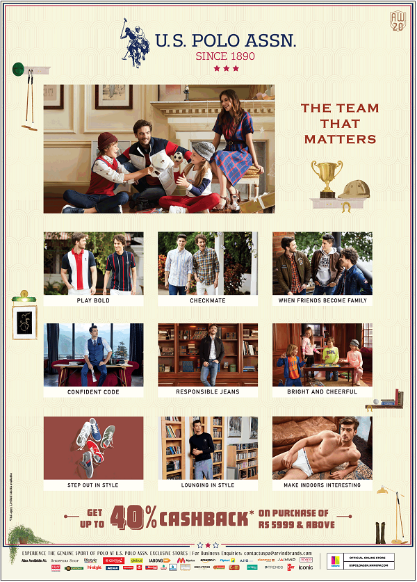 US Polo Assn offers India