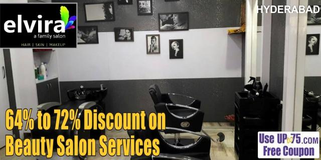 Elvira Unisex Salon and Spa offers India