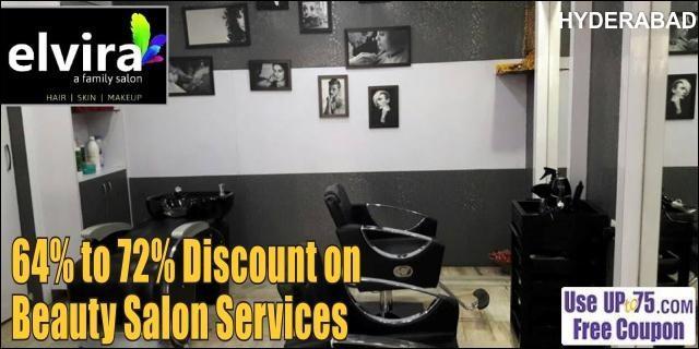 Elvira Unisex Salon and Spa offers India