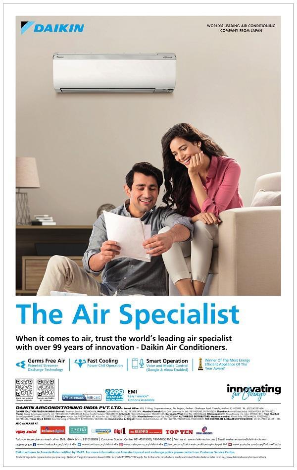 Daikin offers India