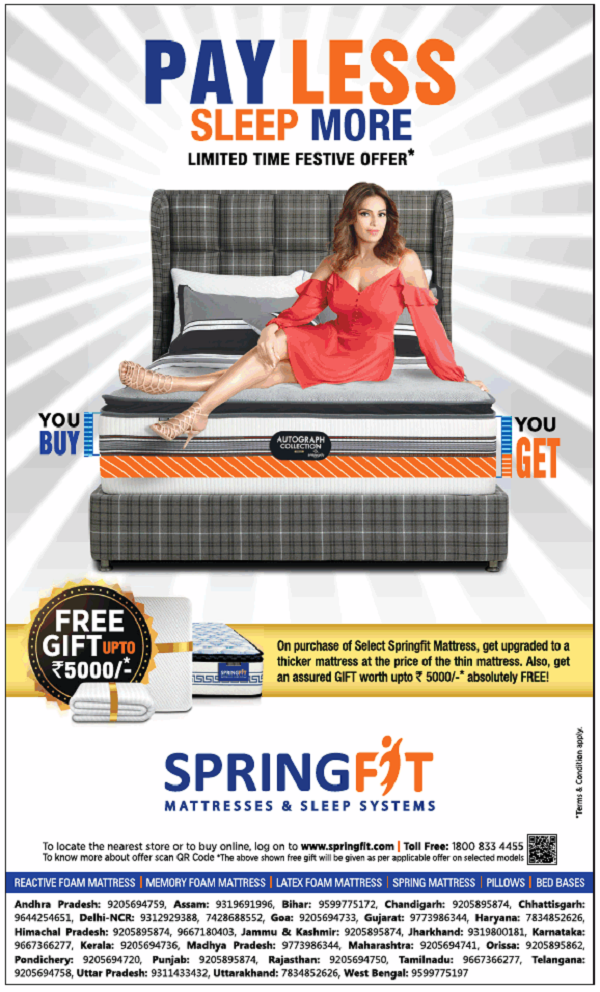 Springfit offers India