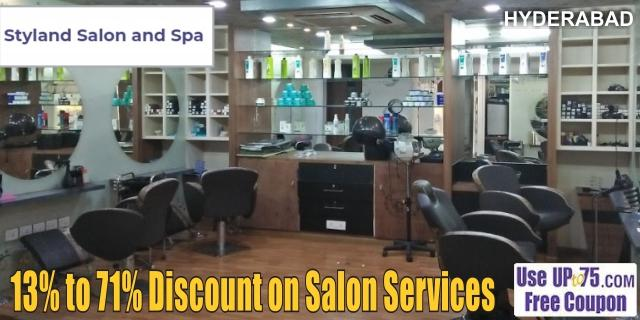 Styland Salon and Spa offers India