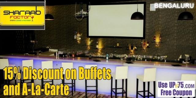 Sharaab Factory Lounge and Bar offers India