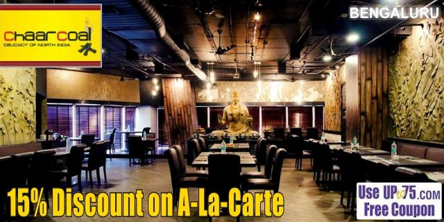 Chaarcoal Restobar offers India