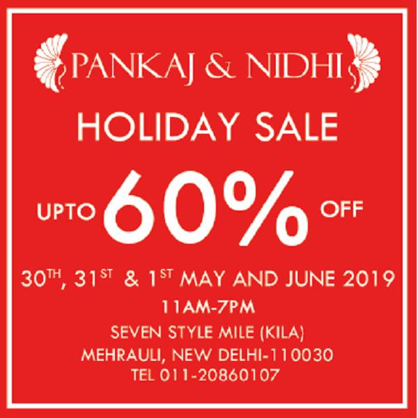 Pankaj and Nidhi offers India