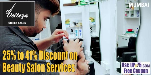 Belleza Unisex Salon offers India