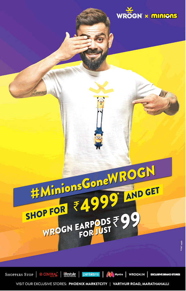 Wrogn offers India