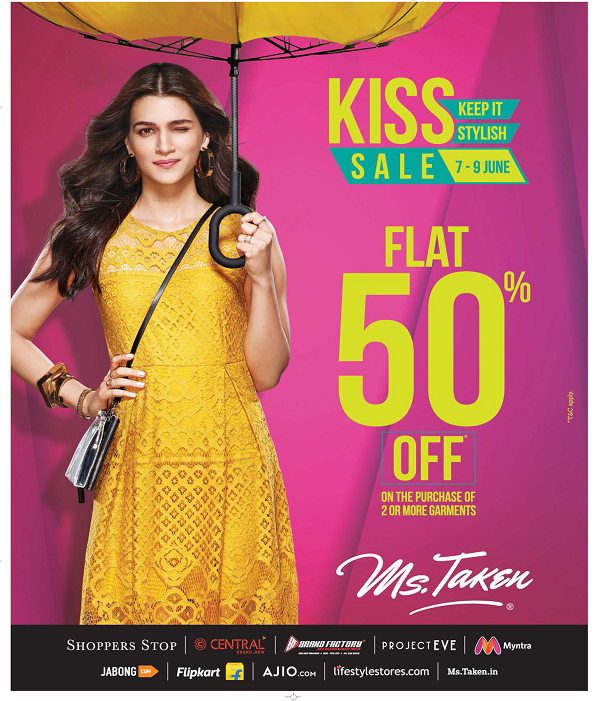 Ms Taken offers India