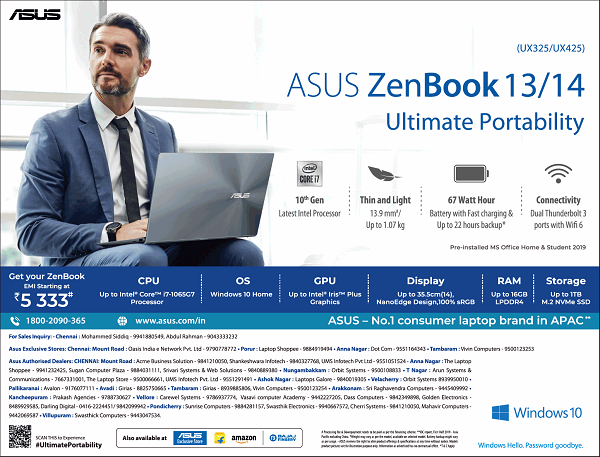 Asus offers India