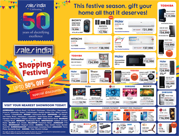 Sales India offers India