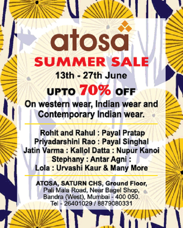 Atosa offers India