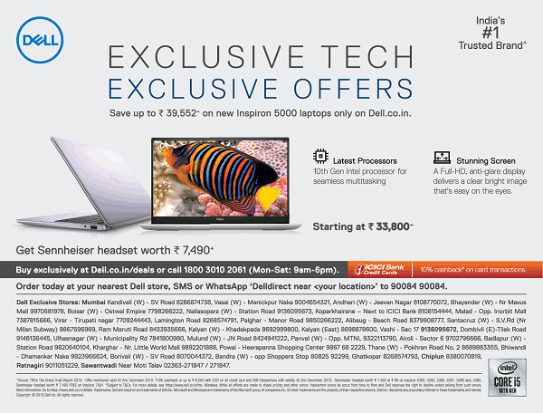 Dell offers India