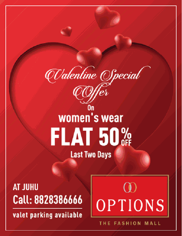 Options Fashion offers India