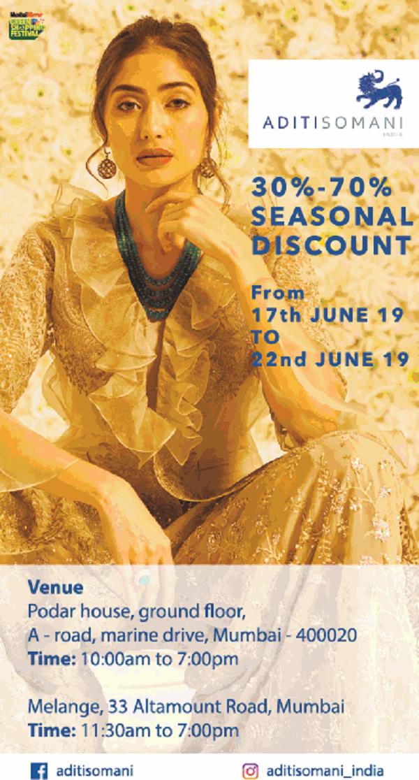 Aditi Somani offers India