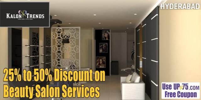 Kalon Trends Unisex Hair and Style Salon offers India