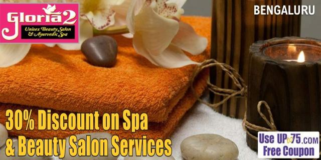 Gloria2 Unisex Beauty Salon and Ayurvedic Spa offers India