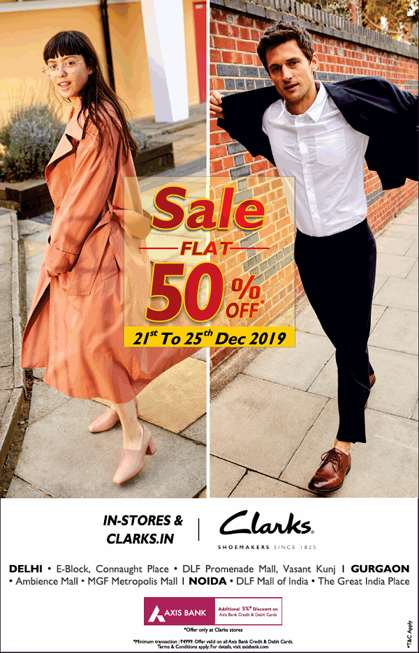 Clarks offers India
