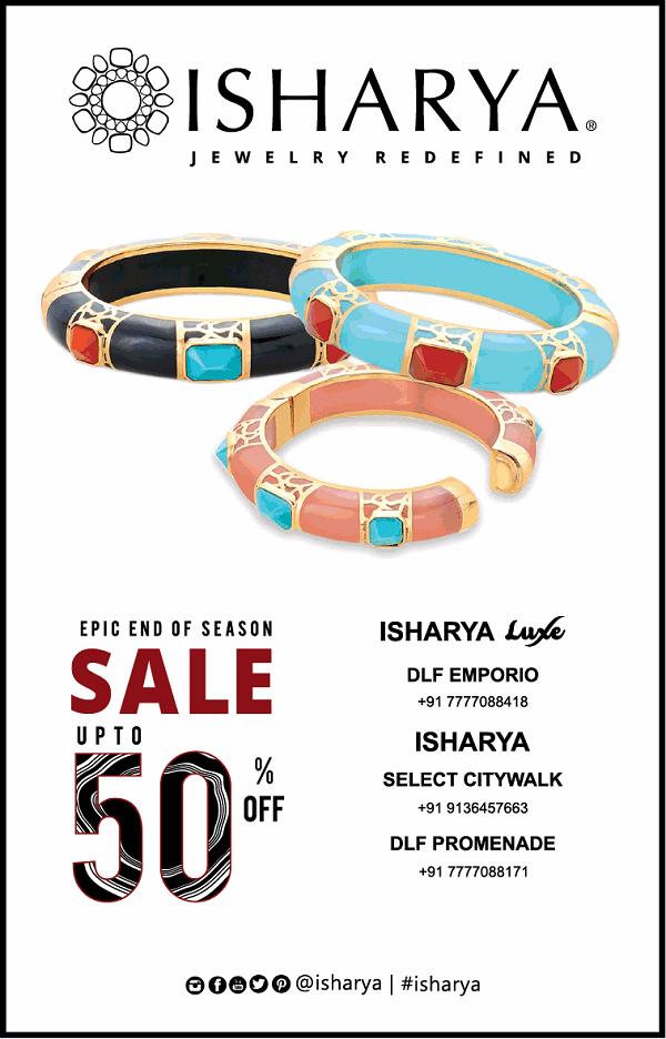 Isharya offers India